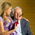 Старый муж с молодой женой